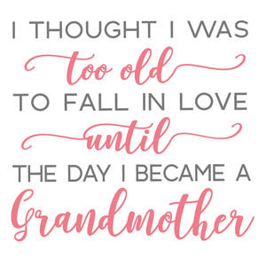 fall in love...grandma
