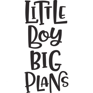 little boy big plans