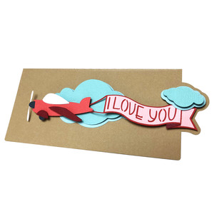 airplane love card