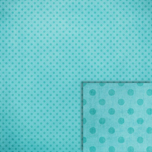 summer blue polka dots background paper