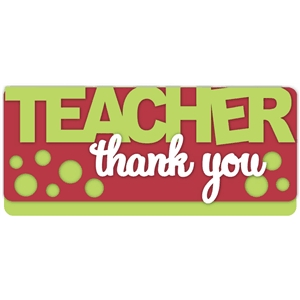 teacher-thank you card kit