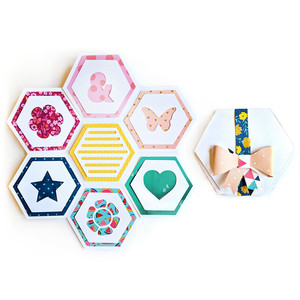 hexagon mini album
