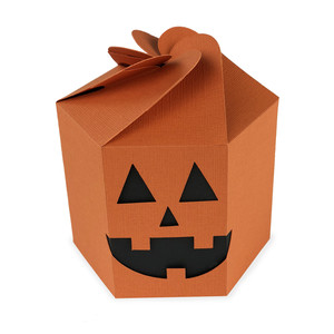pumpkin hexagon box