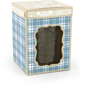 mason jar box wide pint