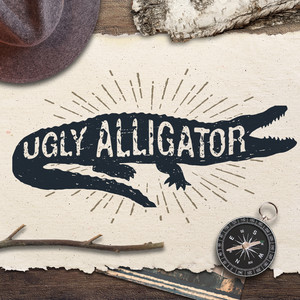 ugly alligator font