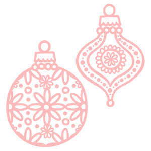 boho ornament set