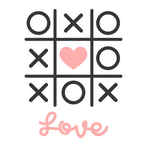 love tic tac toe