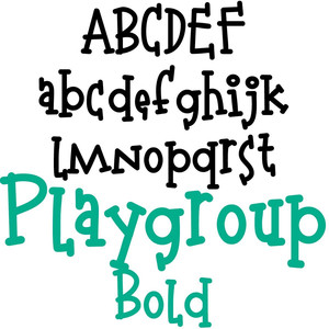 pn playgroup bold