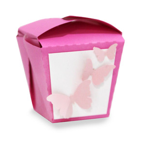 butterfly chinese take out box