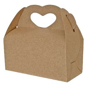 gable box with heart handle