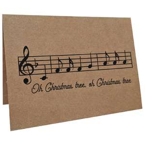 oh christmas tree music card