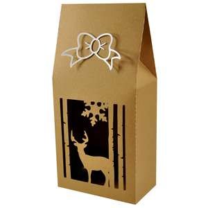 forest deer upright gift box