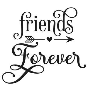 friends forever arrow quote