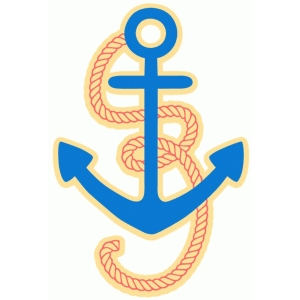 rope and anchor