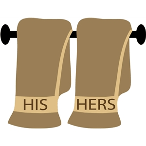 his-hers-towels
