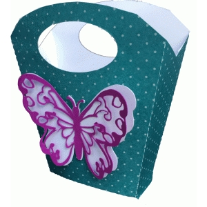butterfly handled bag