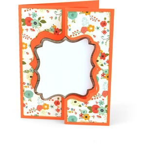flip flap card bracket label