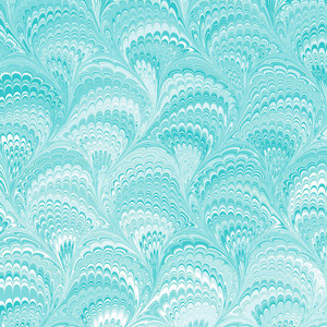 teal marbled pattern