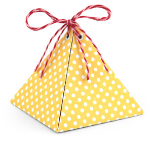pyramid favor box