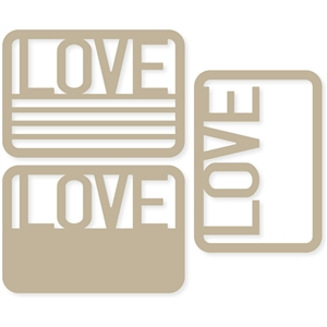 'love' 4x6 life cards