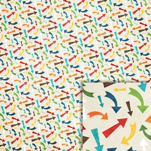 bright colorful arrows background paper