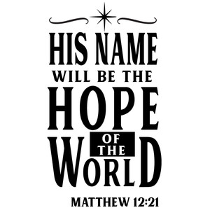 his name hope of world