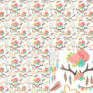 antlers background paper