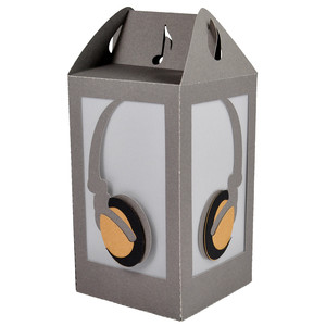 headphones lantern
