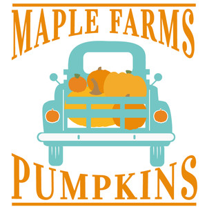maple farms pumpkin truck