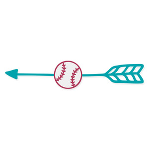 baseball arrow