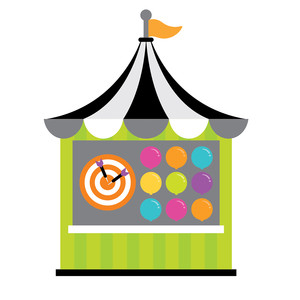 game tent - candy carnival