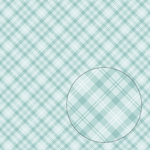 blue plaid seamless pattern