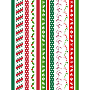 christmas washi sticker planner tape