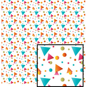 geometric shapes pattern