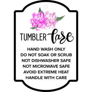 peony care instructions tag