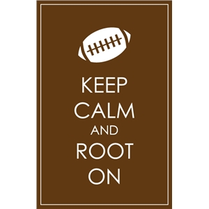 keep calm root on