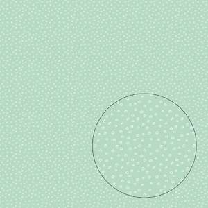 hand drawn tiny circles seamless pattern
