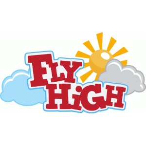 ppbn designs fly high title with sun and clouds