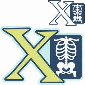 'x' is for x-ray