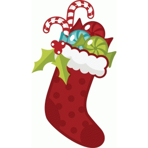 candy filled stocking