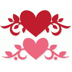 heart vine flourish