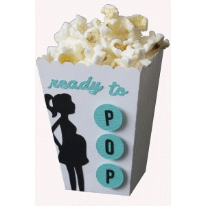 ready to pop baby shower popcorn box