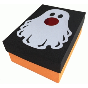 ghost candy box