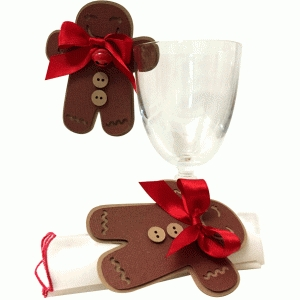 gingerbread place card
