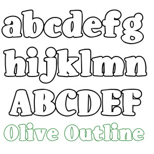 ld olive outline