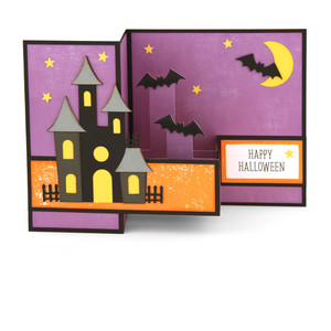 pop up box card halloween