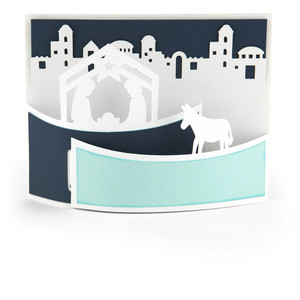 a2 flexi card nativity
