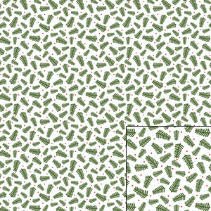 pine bough repeating pattern