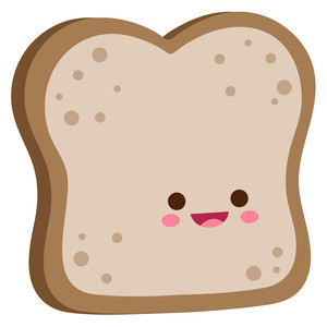 kawaii toast