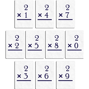 flashcard - multiply 2